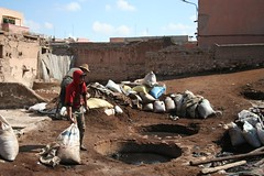 Bab Debbagh Leather Tanneries in Marrakech