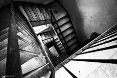 Wake Up This Morning (fabio c. favaloro) Tags: bw scale stairs bn bianconero abbandono fabiocfavaloro theemptyplaces wakeupthismorning