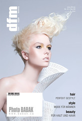 Babak Photo (BABAK photography) Tags: color beauty fashion magazine hair photographer photoshoot blond salon babak awards naha silas avant garde facebook stylist contessa tsang babakca babck mirrorcover