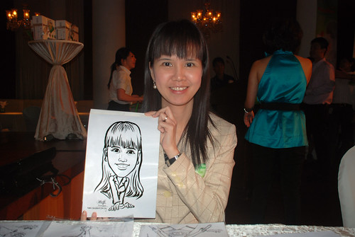 Caricature live sketching for GSK -5