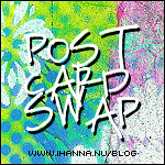 Join the DIY Postcard swap (Copyright Hanna Andersson)