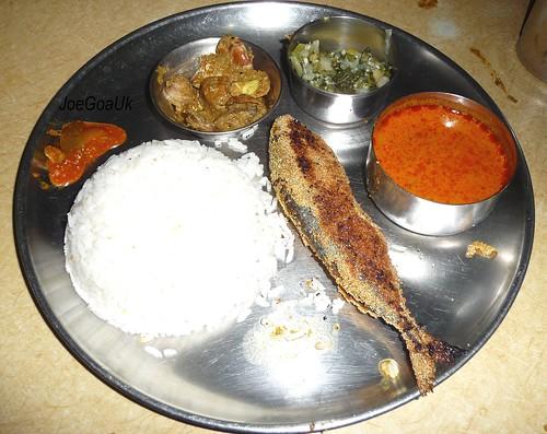 My Karwar 4 U Fish Curry Rice Thali