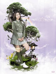 sooyoung - girls generation (Wilson Cáceres ®) Tags: bon girls vacation music dog sun house green birds photoshop asian temple happy design graphicdesign colombia graphic natural group ps korea korean adobe bonsai wilson princes publicity psd dae shi generation corean beautifull nyuh udi caceres enviroment kpop sooyoung snds soshi snsd 소녀시대 girlsgeneration sonyuhshidae 최수영 sonyushidae koreanvacation soshified happyprincess snsdsooyoung naturalcreativestudios kpopcolombia
