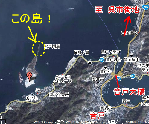 三ツ子島 地図