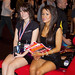People - Girls - Amy Walton & Claire - Sitting on an Ultima GTR 720 Sports Car - Autosport 2010 - Birmingham NEC - 100117 - Steven Gray - IMG_2202