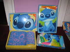 Stitch boxed hand towels