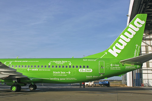 Kulula Air Boeing 737-800 Special Livery