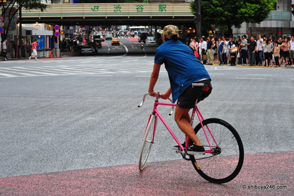 If you dont have a car, then a pink bicycle is the next best thing