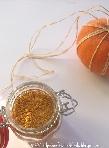 Polvere di arancia