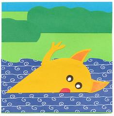 river swimmer monster