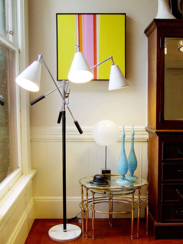 Samu0027s House Tour For Apartment Therapy   Arteluce Triennale Lamp (Monument  SF) Tags: