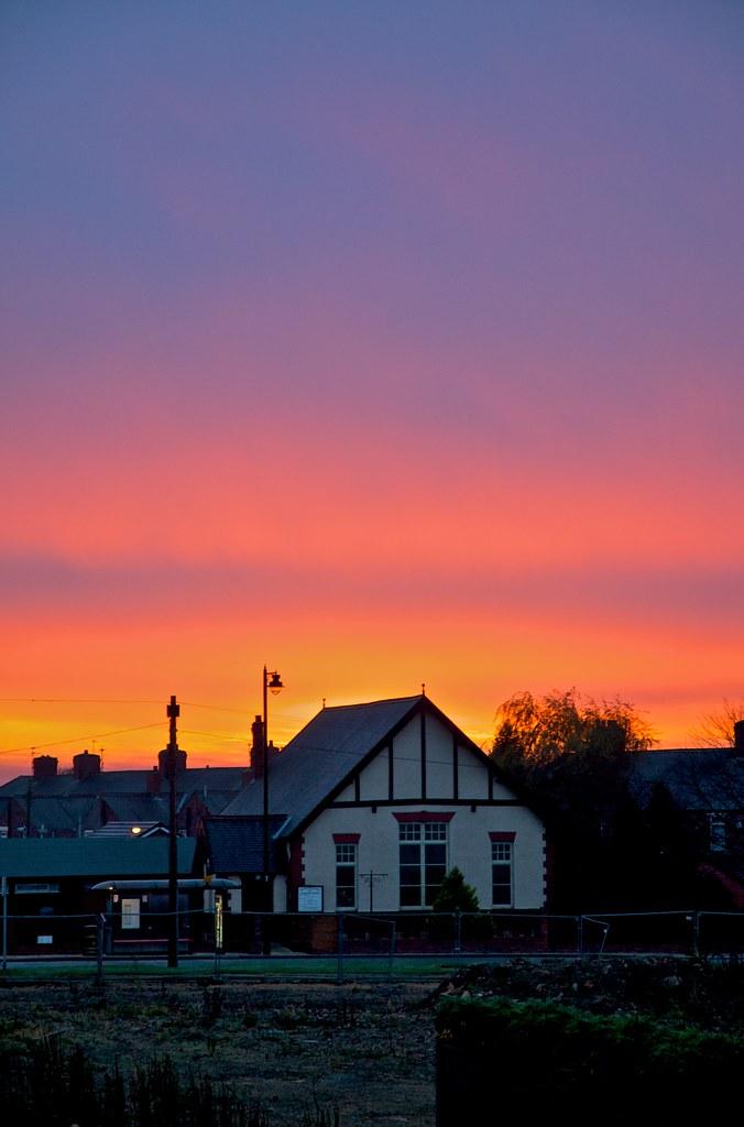 Chilton sunrise