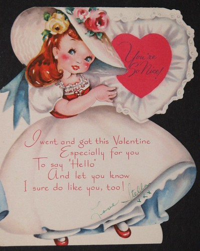 Vintage Valentine's Day Card 008