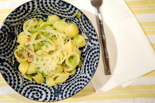 broccoli with orecchiette