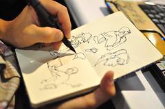 sketchbook weno (giltokio) Tags: nerd campusparty cpartybr