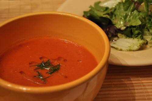 Creamless Creamy Tomato Soup