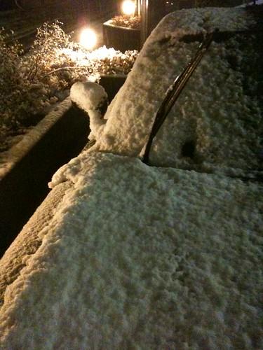 降雪とRX-7(2/1)