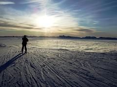 Steps on clouds (flickrknufflo) Tags: schnee winter sunset shadow sky snow mountains alps berg montagne soleil sonnenuntergang hiver himmel ciel neige alpen schatten coucherdesoleil gebirge chamrousse coucherdusoleil ombrage