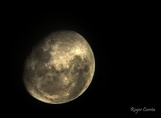 Outra foto da Lua