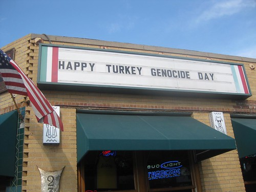Happy Turkey Genocide Day!