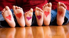 Kids Feet Pictures Red Feet Kids Toes Heart