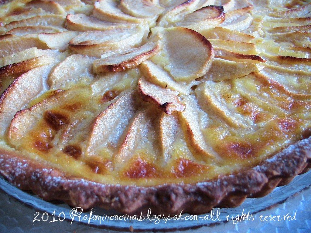 Crostata di mele Alsaziana