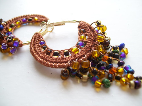 Crocheted hoops