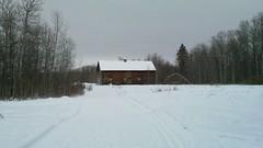 Old barn on Muskeg Creek Ski Trail