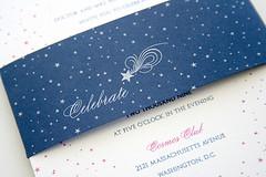 Celebrate card by Sarah Parrott