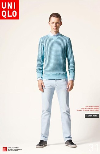 UNIQLO 0249_LOOK BOOK 2010 SPRING_Jakob Hybholt