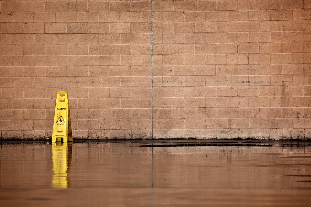 40/365: Wet Floor