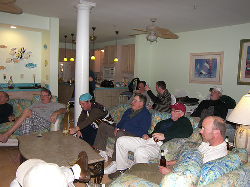 Super Bowl Party 2010