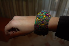 creazioni betta 011 (elisabetta mastrosimone) Tags: lana braccialetto alluncinetto