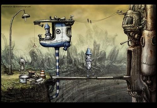 小游戏艺术巅峰:《机械迷城》图文攻略   爱软客
