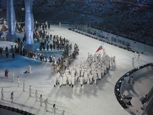 Vancouver Olympic Opening Ceremonies
