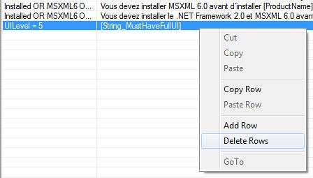 table ui-level-delete