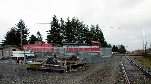 Eastside Freight RR Yard - Woodinville WA