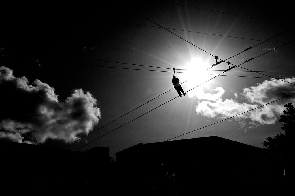Zip Line in the Sky