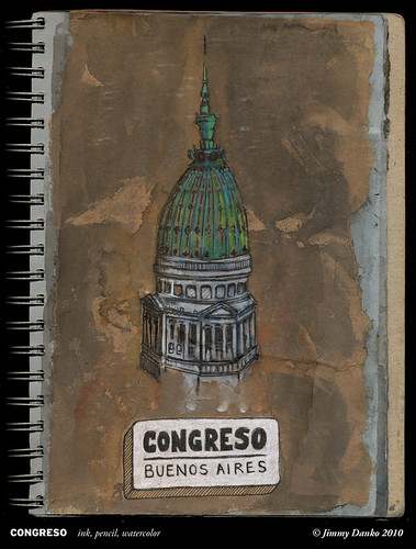 Sketch of the Day 2-15-2010: Congreso