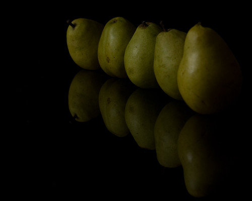 Pears and Reflections