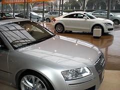 SHANGHAI PUDONG AUDI DEALER VISIT AUDI S8 V10 AND TT COUPE 052 (livingingermanyagain) Tags: china new shanghai showroom tt pudong audi coupe spotting v10 dealer a8 r8 s8