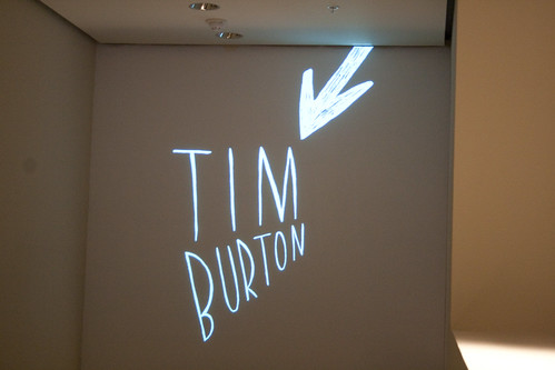 Tim Burton Exhibit at MoMA