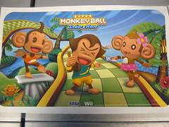 Super Monkey Ball Step & Roll - Balance Board Cover