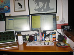 The serious home office needs wireline broadband - photo by Rynosoft on Flickr licensed under Creative Commons