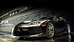 Lexus LFA (jrobfoto.com) Tags: chicago car digital canon eos automobile raw autoshow fullframe dslr copyrighted cr2 jonathanrobsonphotographycom 5dmarkii chicagoautoshow2010