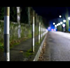 a night walk (buttha) Tags: night bokeh perspective notte prospettiva sfocato sigma30mmf14 authorsclub
