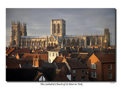 The Cathedral Church of St Peter in York (SteveMG) Tags: york landscape rooftops cathedral yorkshire smg minster