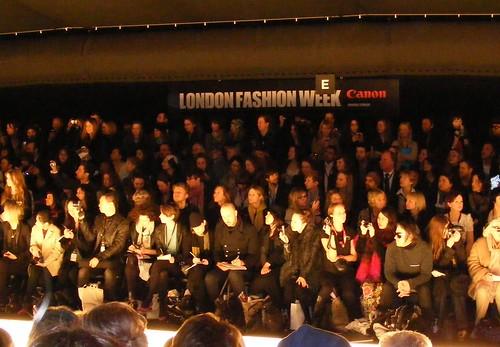 London Fashion Week attendees