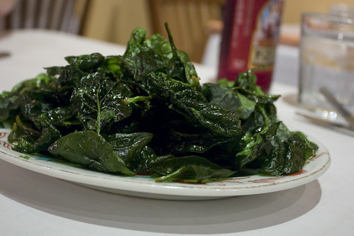 Flash Fried Spinach