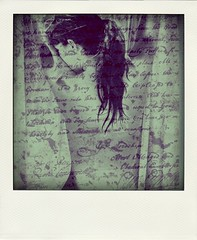Can you fix me? (dreamwhile) Tags: back girl polaroid writing female selfportrait